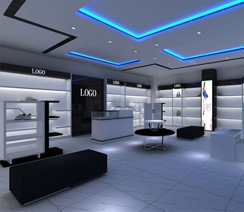 Custom Shoes Store Interior Design Shoe Display Dg Furniture Info