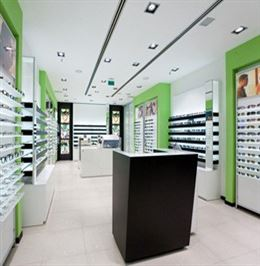 High End Eyeglass Display Cabinets