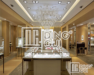 Customized Showcases Choose Dinggui To Make You Worry-free After Sales