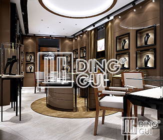 Dinggui Showcase Master Jewelry Store Design Makes Your Products Stand Out